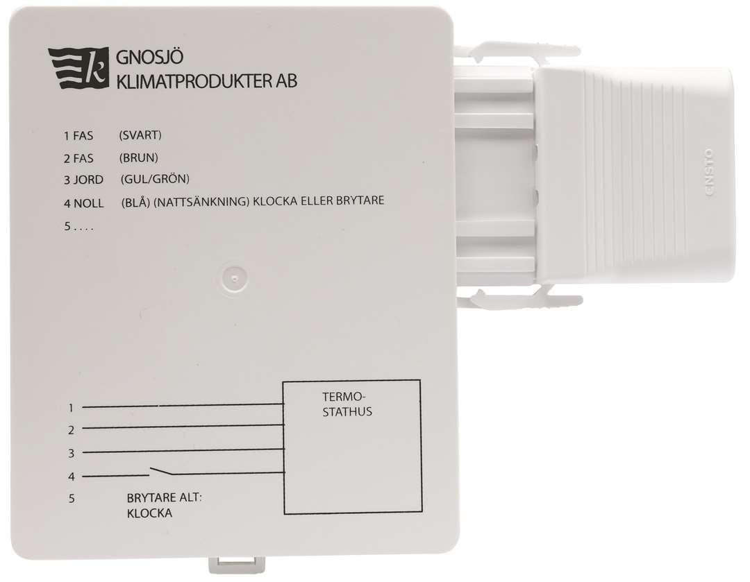 Unika Kopplingsbox för oljefylld radiator, 400V - 9985001 - Malmbergs RX-86